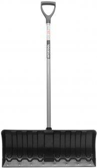 Лопата для уборки снега Intertool 62 x 28 см с ручкой 97 см (FT-2090)