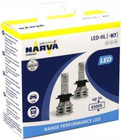 Автолампы Narva 12V/24V 24W H7 LED New Range Performance 6500K 2 шт (NV 18033 RPNVA X2)
