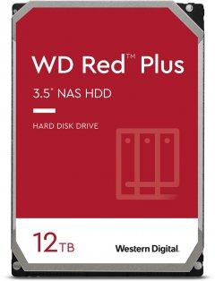 Жесткий диск Western Digital Red Plus 12TB 7200rpm 256МB WD120EFBX 3.5 SATA III