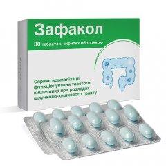 Біологічно активна добавка Зафакол, таблетки вкриті оболонкою 30 шт