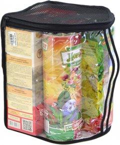 Комплект №2 Лорі корм для волнистых попугаев + лакомство и переноска 2.5 кг (4823094310758)