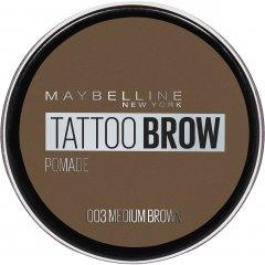 Помадка для бровей Maybelline New York Tatto Brow оттенок 003 Светло-коричневый 2 г (3600531516734)