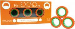 Магнитные кольца FinGears Magnetic Rings Sets Size M Orange-Green (FG380MORGR)