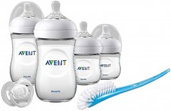 Набор для кормления новорожденных Philips Avent Natural (SCD301/01) (8710103876625)
