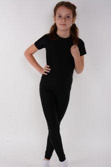 Дитячі лосини для танців і гімнастики Lagracia зростання 145-155см Чорний 103bd