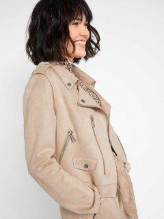 Куртка из искусственной замши Orsay 827022-088000 44 (82702229844)