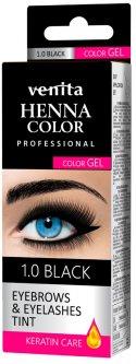 Краска-гель для бровей Venita Tint черная 30 г (5902101518895)