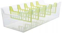 Органайзер для специй BranQ Прозрачный 30 x 13 x 8 см (BRQ-1640)