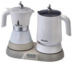 Гейзерная кофеварка ARIETE 1344 + капучинатор