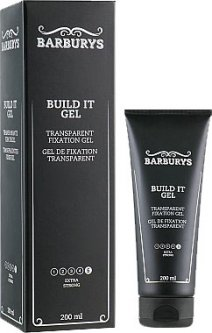 Гель для укладки Barburys Buid It экстра сильной фиксации 200 мл (5412058205194)