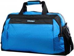 Дорожно-спортивная сумка Valiria Fashion 32 л Синий/Черный (DETAO2700-5)
