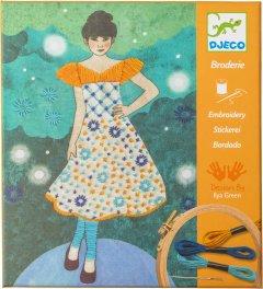 Художественный комплект Djeco вышивка Вечерняя мода (DJ09842) (3070900098428)