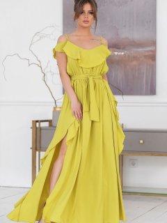 Сарафан New Fashion 309 42 Лаймовый (2000000469270)
