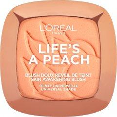 Румяна L'Oréal Paris Life`s a peach Персиковый 9 г (3600523560813)