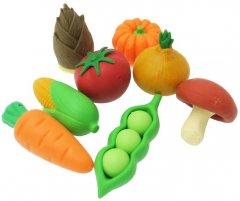 Набор ластиков Iwako для карандаша Овощи 8 шт (ER-BRI023) (4991685201232)