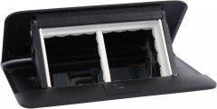 Выдвижной люк Legrand DLP desk на 4 модуля Черный (654002)