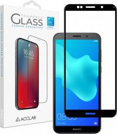 Защитное стекло ACCLAB Full Glue для Huawei Y5 2018 Black (1283126508288)