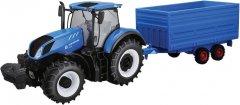 Автомодель Bburago Трактор New Holland серии Farm (18-44067) (4893993440672)