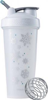 Спортивный шейкер BlenderBottle Classic Loop Special Edition Frost с шариком 820 мл Белый (Loop 28oz Frost)