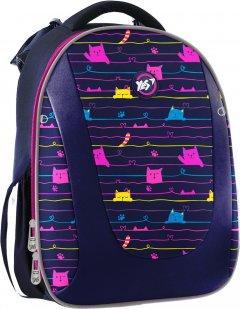 Рюкзак школьный каркасный YES H-28 женский 0.9 кг 30x37x19 см 20.5 л Cats (558040)