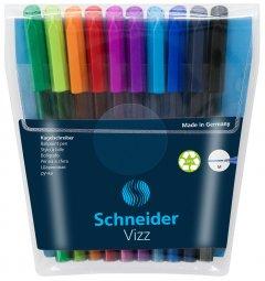 Набор масляных ручек Schneider Vizz 0.7 мм 10 цветов в блистере Ассорти (S102290)