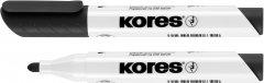 Набор маркеров для белых досок Kores 1-3 мм Черный 12 шт (K20830) (9023800203809)