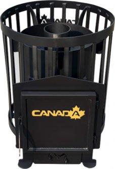 Дровяная каменка Canada Бочка 15 м3 без выноса (CB-1500015)