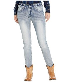 Джинси Rock and Roll Cowgirl Boyfriend Jeans in Light Wash W2S1029 Light Wash, 28W 32L (10657984)