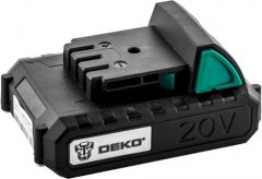 Аккумуляторная батарея Deko 20VY 20 В-2 А·ч Li-Ion (LP12196)
