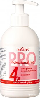 Bielita, Профессиональная линия, сыворотка против выпадения волос несмываемый, 300 мл(4810151007577)