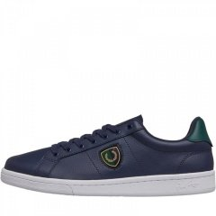 Кеди Fred Perry B721 Leather Shields Badge Carbon Blue Navy, 39 (11042243)