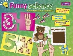 Настольная игра 1 Вересня Funny Science Цифры и цвета (4823091901065)