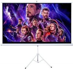 Экран на триноге с механизмом возврата Charmount 4:3 145x110 см (CTPC72)