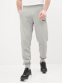 Спортивні штани Puma Ess Logo Pants 58671653 L Medium Gray Heather-Cat (4063697299818)