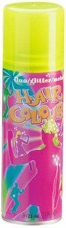 Краска-Спрей Sibel Fluo Hair Color для волос флуоресцентный Желтый 125 мл (5412058230202)
