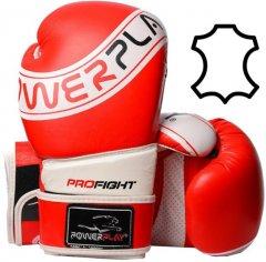 Боксерские перчатки PowerPlay 3023 A Красно-белые 14 унций (PP_3023A_14oz_Red-White)