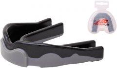 Капа боксерская PowerPlay 3303 Черно-Серый SR (PP_3303_SR_Black/Grey)