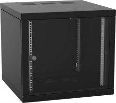 """Шкаф настенный серверный ZPAS 19"""" 18U 600x600 Z-BOX со съемными боковыми стенками и стеклянной дверью Black (WZ-7240-20-A5-161-BNP)"""