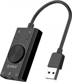Звуковая карта Protech Orico USB Sound Card Adapter SС2-BK Black (PO-0112)