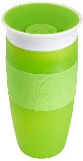 Чашка-непроливайка Munchkin Miracle 360° Sippy 414 мл Зеленая (17109.02) (735282114793)