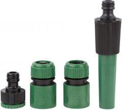 Набор для полива Grad: насадка распылитель 2-х режимная 2 коннектора + адаптер (5012605)