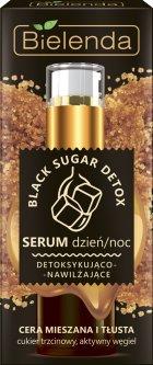 Сыворотка Bielenda Black Sugar Detox Детоксифицирующая и увлажняющая день/ночь для смешанной и жирной кожи 30 г (5902169032869)