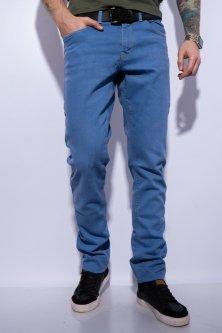Джинси з легкою потертістю Time of Style 148P025 30 Блакитний
