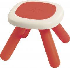 Стульчик без спинки детский Smoby Toys Красный (880203) (3032168802032)