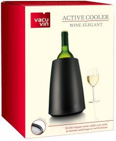 Ведро-охладитель для бутылки вина Vacu Vin Active Cooler Wine Elegant Black (3649460)