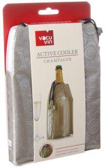 Охладитель-мешочек для бутылки шампанского Vacu Vin Active Cooler Champagne Platinum (38855626)
