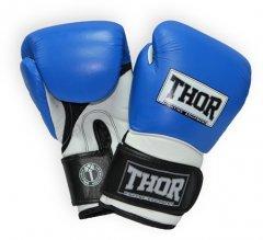 Перчатки боксерские Thor Pro King (Leather) 12 унций Blue/White/Black (8041/03(Leather) Bl/Wh/B12 oz.)