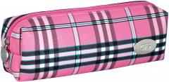 Пенал мягкий Cool For School Тартан 1 отделение Розовый (CF86654)
