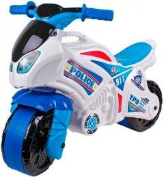 Беговел ТехноК Мотоцикл Бело-синий (5125) (4823037605125)