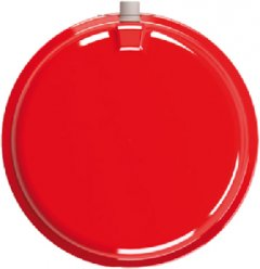 Расширительный бак плоский круглый CIMM CP335/10 Красный (7510)